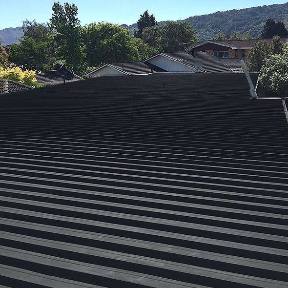Finished Job Exterior Roof Painting Wellington